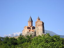 Gremi–the royal citadel and the Church of the Archangels, Kakheti, Georgia.jpg