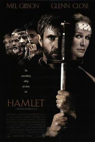 Hamlet (1990 film) - North American theatrical release poster