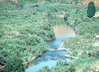 Water politics - The Jordan River