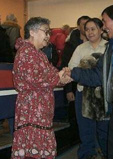 Helen Maksagak Canadian politician
