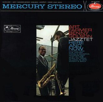 Here and Now (The Jazztet album) - Image: Here and Now (The Jazztet album)