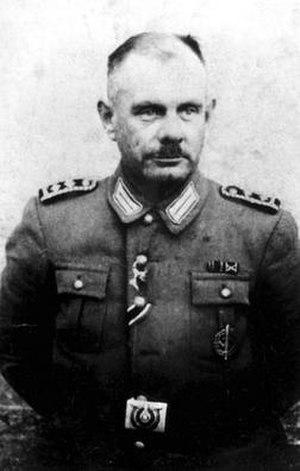 Sobibór trial - SS executioner Erich Bauer