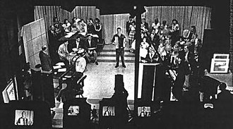 The Horn and Hardart Children's Hour - The Horn and Hardart Children's Hour, as seen from WCAU-TV's control room in 1948.