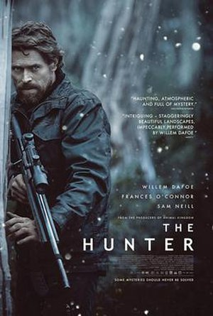 The Hunter (2011 Australian film) - Australian theatrical release poster