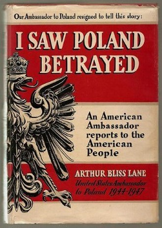 I Saw Poland Betrayed - First edition