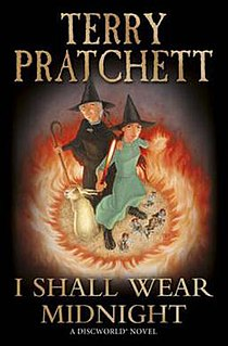 <i>I Shall Wear Midnight</i> Discworld novel by Terry Pratchett