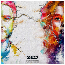 607bddc562130 I Want You to Know (Zedd song) - Wikipedia