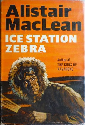 Ice Station Zebra (novel) - First edition cover (UK)