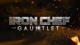 Iron Chef Gauntlet - Image: Iron Chef Gauntlet Logo