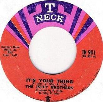 It's Your Thing - Image: Isleyyourthing