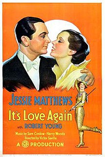 <i>Its Love Again</i> 1936 film by Victor Saville