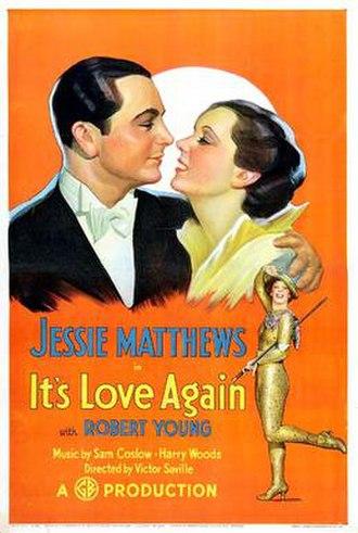It's Love Again - Film poster