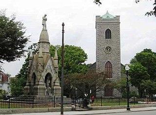 Jamaica Plain Neighborhood of Boston in Suffolk, Massachusetts, United States