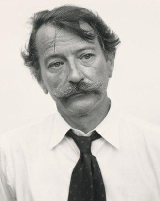 John Szarkowski - Portrait of Szarkowski (cropped) in 1975 by Richard Avedon