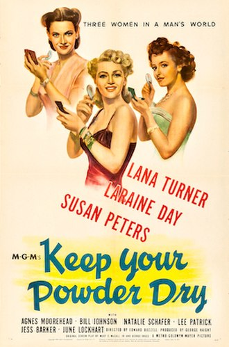 Keep Your Powder Dry - Image: Keepyourpowderdry