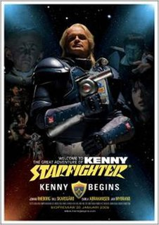 <i>Kenny Begins</i> 2009 film by Carl Åstrand