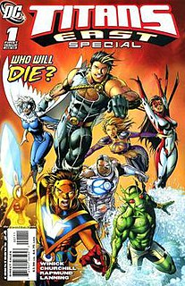 Lagoon Boy DC Comics character
