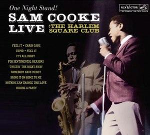 Live at the Harlem Square Club, 1963 - Image: Live at Harlem Cooke alt