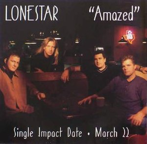 Amazed - Image: Lonestar Amazed US single cover