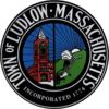 Official seal of Ludlow, Massachusetts