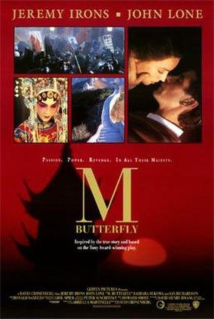 M. Butterfly (film) - Theatrical release poster