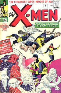 X-Men #1 (Sept. 1963).Written by Stan Lee & art by Jack Kirby.