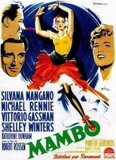 <i>Mambo</i> (film) 1954 film by Robert Rossen