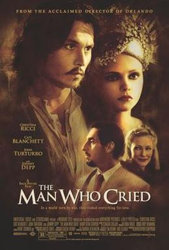 The Man Who Cried - Theatrical release poster