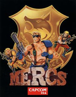<i>Mercs</i> 1991 video game