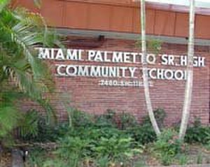 Miami Palmetto High School - Image: Miami Palmetto High School
