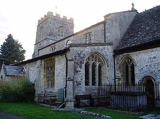 Mildenhall, Wiltshire - Image: Minal church