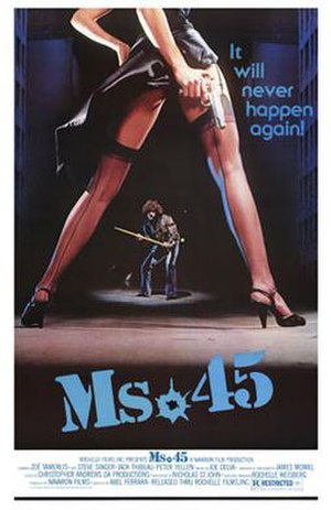 Ms. 45 - Theatrical release poster