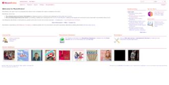 MusicBrainz - MusicBrainz homepage.