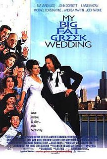 <i>My Big Fat Greek Wedding</i> 2002 film by Joel Zwick