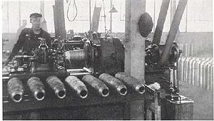 New York Air Brake - 155mm shells, one of the many items produced during the WWI period