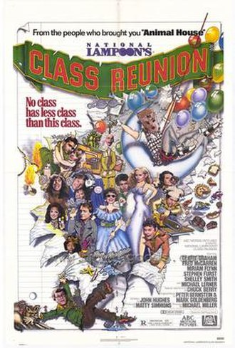 National Lampoon (magazine) - Movie poster of National Lampoon's Class Reunion