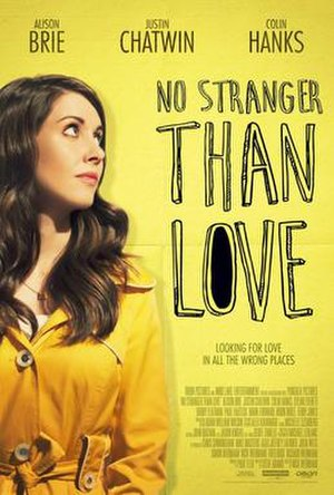 No Stranger Than Love - Theatrical release poster