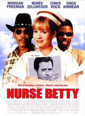 Nurse Betty - Theatrical release poster
