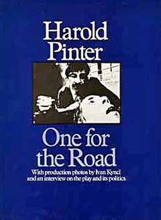 <i>One for the Road</i> (Pinter play) Harold Pinter play