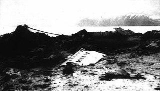 Aircraft crash in Svalbard, 1996