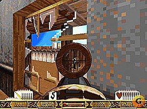 Outlaws (1997 video game) - Outlaws features one of the earliest examples of a sniper zoom system. Unlike many modern shooters, which switch to a full screen zoom, here only the scope itself is affected by the zoom.