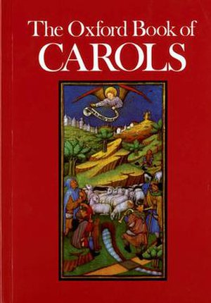 Oxford Book of Carols - Cover of the 1984 edition