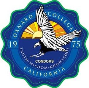 Oxnard College - Image: Oxnard College Seal