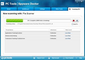 PC Tools (company) - Screenshot of PC Tools Spyware Doctor