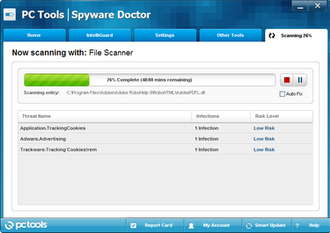 PC Tools (company) - Screenshot of PC Tools Spyware Doctor