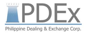 Philippine Dealing Exchange - PDEx Logo
