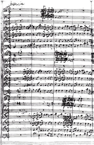 "Johann Friedrich Fasch - Johann Friedrich Fasch Concerto in D for Three Choirs (""Royal Fireworks Music""), FWV L:D13, movement no 2 ""Andante"""