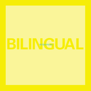 Bilingual (album) - Image: Pet Shop Boys Bilingual