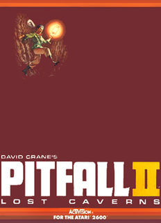 <i>Pitfall II: Lost Caverns</i> 1984 video game