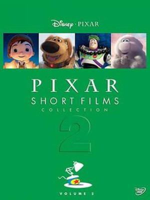 Pixar Short Films Collection, Volume 2 - DVD cover